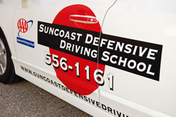 Six hours of behind the wheel training which consists of four nintey minutes of driving lessons